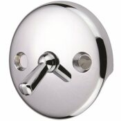 PROPLUS TUB DRAIN WITH TRIP LEVER FACE PLATE, CHROME