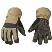 YOUNGSTOWN GLOVE COMPANY X-LARGE WATERPROOF WINTER XT INSULATED GLOVES WITH EXTENDED GAUNTLET CUFFS