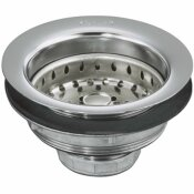 KOHLER 4-1/2 IN. SINK STRAINER IN POLISHED CHROME