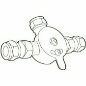 MOEN COMMERCIAL MIXING TEE WITH CHECK VALVES