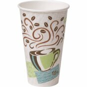 PERFECTOUCH INSULATED PAPER HOT CUP, 16 OZ. (FITS LARGE LIDS), COFFEE HAZE (20 SLEEVES PER CASE, 50 CUPS PER SLEEVE)