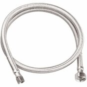 DURAPRO 3/8 IN. COMPRESSION X 1/2 IN. FIP X 48 IN. BRAIDED STAINLESS STEEL FAUCET SUPPLY LINE