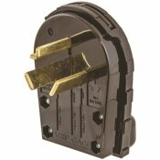 HUBBELL WIRING 30 AMP 125/250-VOLT 3-POLE 3-WIRE HUBBELL NON-GROUNDING ANGLE PLUG