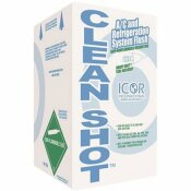 ICOR INTERNATIONAL CLEANSHOT AC AND REFRIGERATION SYSTEM FLUSH WITH HANDY SHOT TOOL, 5 LBS. CYLINDER