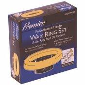 PREMIER WAX RING KIT WITH POLYETHYLENE FLANGE - PREMIER PART #: 7793