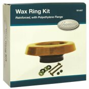 PREMIER WAX RING KIT REINFORCED WITH POLYETHYLENE FLANGE