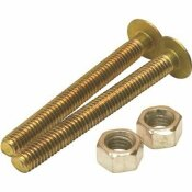 PROPLUS 5/16 IN. X 2-1/4 IN. OVAL CLOSET BOLT, SOLID BRASS