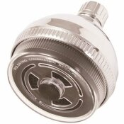 PREMIER 3-SPRAY 3.8 IN. SINGLE WALL MOUNT FIXED ADJUSTABLE SHOWER HEAD IN CHROME