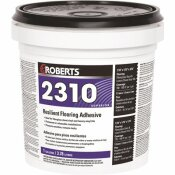 ROBERTS 2310 1 GAL. RESILIENT FLOORING ADHESIVE FOR FIBERGLASS SHEET GOODS AND LUXURY VINYL TILE
