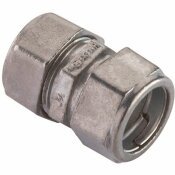 HALEX 3/4 IN. ELECTRICAL METALLIC TUBE (EMT) COMPRESSION COUPLING (5-PACK)