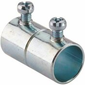 HALEX 1/2 IN. ELECTRIC METALLIC TUBE (EMT) SET-SCREW COUPLING (50-PACK)