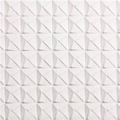 SPECTRATILE 2 FT. X 2 FT. WHITE SUSPENDED-GRID WATERPROOF CEILING TILE (PACK OF 12)
