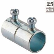 HALEX 3/4 IN. ELECTRICAL METALLIC TUBE (EMT) SET-SCREW COUPLING (25 PACK)