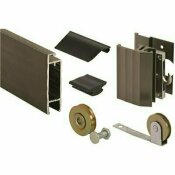 PRIME-LINE 37 IN. X 81 IN. X 1-3/4 IN. BRONZE KD KIT