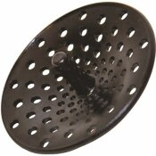 DANCO CONCAVE GARBAGE DISPOSAL STRAINER IN BLACK