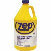 ZEP 1 GAL. ANTI-BACTERIAL DISINFECTANT CLEANER (CASE OF 4) - ZEP PART #: ZUBAC128