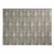 NOT FOR SALE - 202868654 - NOT FOR SALE - 202868654 - FASADE 18.25 IN. X 24.25 IN. CROSSHATCH SILVER HAMMERED PVC DECORATIVE BACKSPLASH PANEL - ACP PART #: B55-21