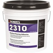 ROBERTS 2310 4 GAL. RESILIENT FLOORING ADHESIVE FOR FIBERGLASS SHEET GOODS AND LUXURY VINYL TILE