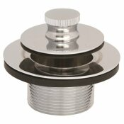 SAYCO LIFT-AND-SPIN STOPPER ASSEMBLY IN CHROME - SAYCO PART #: P232