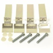 DANCO SINK CLIPS FOR TILE COUNTER (4-PACK)