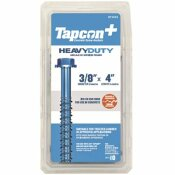 TAPCON 3/8 IN. X 4 IN. HEX-WASHER-HEAD LARGE DIAMETER CONCRETE ANCHORS (10-PACK)
