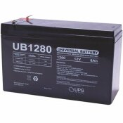 UPG 12-VOLT 8 AH F1 TERMINAL SEALED LEAD ACID (SLA) AGM RECHARGEABLE BATTERY