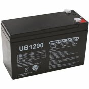 UPG 12-VOLT 9 AH F1 TERMINAL SEALED LEAD ACID (SLA) AGM RECHARGEABLE BATTERY