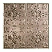 NOT FOR SALE - 203822726 - NOT FOR SALE - 203822726 - FASADE TRADITIONAL STYLE #2 2 FT. X 2 FT. VINYL LAY-IN CEILING TILE IN GALVANIZED STEEL - ACP PART #: L52-30