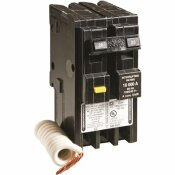 SQUARE D HOMELINE 20 AMP 2-POLE GFCI CIRCUIT BREAKER - CLEAR PACKAGING
