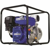 DUROMAX 9 HP 4 IN. PORTABLE UTILITY GASOLINE POWERED WATER PUMP