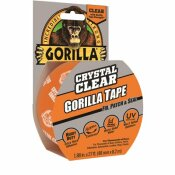 GORILLA 1.88 IN. X 9 YDS. CRYSTAL CLEAR TAPE (6-PACK)