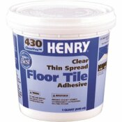 HENRY 430 1 QT. CLEARPRO VCT ADHESIVE