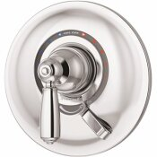 SYMMONS ALLURA 1-HANDLE WALL-MOUNTED SHOWER VALVE TRIM KIT IN POLISHED CHROME (VALVE NOT INCLUDED)