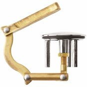 KOHLER 2 IN. H POP-UP BATHTUB DRAIN STOPPER AND LIFT TOGGLE IN POLISHED CHROME