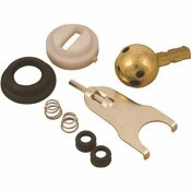 PROPLUS KITCHEN FAUCET REPAIR KIT FOR DELTA CRYSTAL HANDLED FAUCETS WITH LEAD FREE