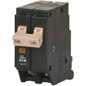 EATON CH 45 AMP 2-POLE CIRCUIT BREAKER WITH TRIP FLAG