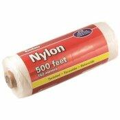KINGCORD #18 X 500 FT. TWISTED NYLON MASON'S LINE, WHITE