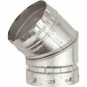 AMERICAN METAL PRODUCTS 4 IN. 45/60-DEGREE ADJUSTABLE ELBOW