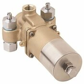 SYMMONS 1/2 IN. TEMPCONTROL THERMOSTATIC MIXING VALVE, CHROME - SYMMONS PART #: 7-102P