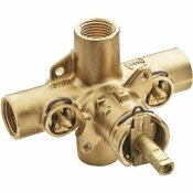 MOEN 1/2 IN. IPS CONNECTIONS COMMERCIAL POSI-TEMP ROUGH-IN SHOWER VALVE WITH INTEGRAL STOPS