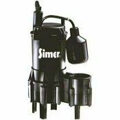 NOT FOR SALE - 2481381 - NOT FOR SALE - 2481381 - SIMER 4/10 HP SUBMERSIBLE SEWAGE PUMP - SIMER PART #: 2961