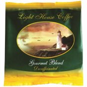 12-CUP LIGHTHOUSE LOGO DECAFFEINATED COFFEE (200-CASE)