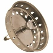 BASKET STRAINER WITH SPRING CLOSURE IN STAINLESS STEEL (5-PACK)