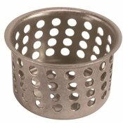 1 IN. BASIN AND BATHROOM STRAINER (6-PACK)