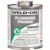IPS CORPORATION WELD ON PVC / CPVC PRIMER, CLEAR, QUART