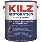 KILZ RESTORATION 1 GAL. WHITE INTERIOR PRIMER, SEALER, AND STAIN BLOCKER