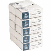 BUSINESS SOURCE PAPER CLIPS, SIZE 1, REGULAR, 0.033 WIRE GAUGE, SILVER (1000 PER PACK)