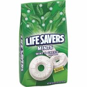 LIFESAVERS WINTERGREEN LIFESAVERS, INDIVIDUALLY WRAPPED, 3.12 LB.