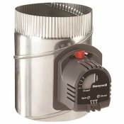 HONEYWELL 10 IN. ROUND AUTOMATIC DAMPER