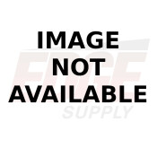 GRAY METAL SLIDE TRUNK, 12 X 8 X 60